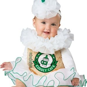 Mommy & Me Costumes - Cappuccino Cutie Halloween Costume Baby 6 12 Month